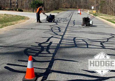 Road Crack Filling